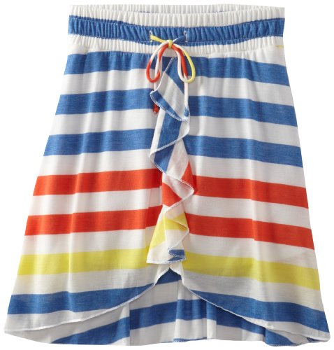 Amy Byer Girls 7-16 Hi Low Stripe Skirt