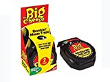 THE BIG CHEESE Poison Free Single Use Revolver! Mouse Trap - Twin Pack STV142
