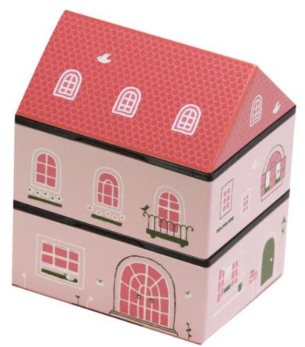 HAKOYA おべんとハウス ピンク 50063