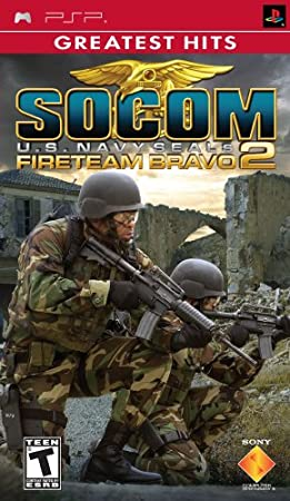 SOCOM U.S. Navy Seals Fireteam Bravo 2 - Sony PSP