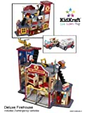 KidKraft Deluxe Fire & Rescue Station Play Set