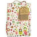 Sugarbooger Laminated Lunch Sack, Matryoshka Doll