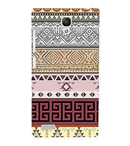 EPICCASE ethnic design Mobile Back Case Cover For Xiaomi Redmi Note 4G (Designer Case)