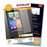AtFoliX FX-Antireflex Non-Reflective Screen Protector for HTC Desire HD Pack of 3 High quality: Made in Germany.