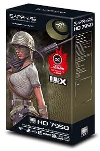 Sapphire ATI HD 7950 Grafikkarte (PCI-e, 3GB GDDR5 Speicher, HDMI, DVI, 2x mini-DisplayPort, 1 GPU)
