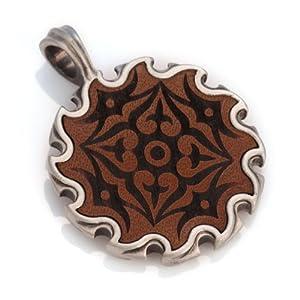 Amazon.com: Bico Grajagan Mandala Pendant (EL14 Brown