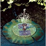 Smart Solar Aquatic Range Floating Lily – Solar Pond Fountain