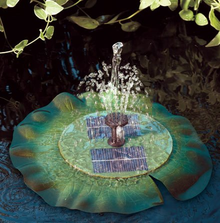 Smart Solar Aquatic Range Floating Lily - Solar Pond Fountain