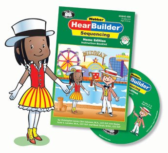HearBuilder Sequencing Interactive Software Program Home Edition - Super Duper Educational Learning Toy for Kids