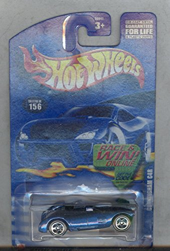Hot Wheels 2002-156 Cunningham C4r 1:64 Scale - 1