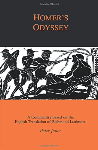 Homer's Odyssey: A Companion to the English Translation of Richard Lattimore (Classics Companions)
