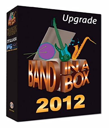 Band-in-a-Box Pro 2012 Upgrade/Crossgrade from Any Version (Win)