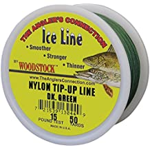 Woodstock Line TU-50-20-G No. 20 Tip-Up Line, Green