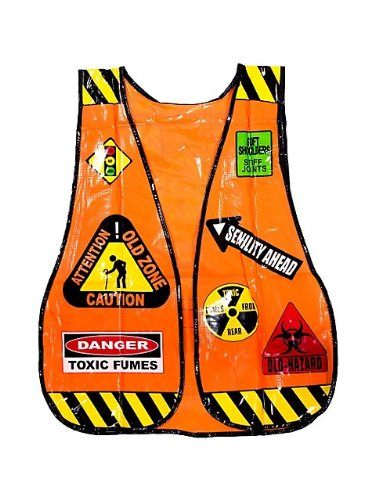 Over The Hill Old Zone Safety Vest