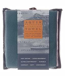 Aquis Adventure Microfiber Towel, Seafoam, Extra Large (29 x 55-Inches)