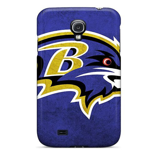 Shock-Dirt Proof Baltimore Ravens Case Cover For Galaxy S4