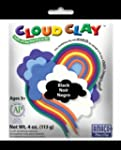 Cloud Clay 4 oz Modelling Clay, Black