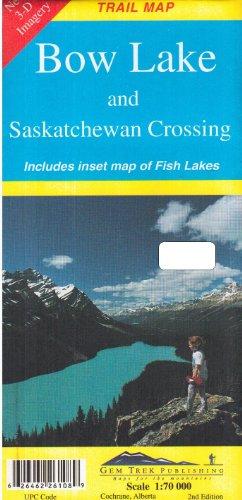 Bow Lake and Saskatchewan Crossing (Recreational Map)
