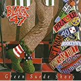 Green Suede Shoesby Black 47