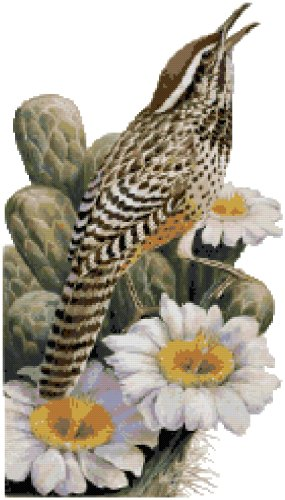 Arizona State Symbol Counted Cross Stitch Pattern