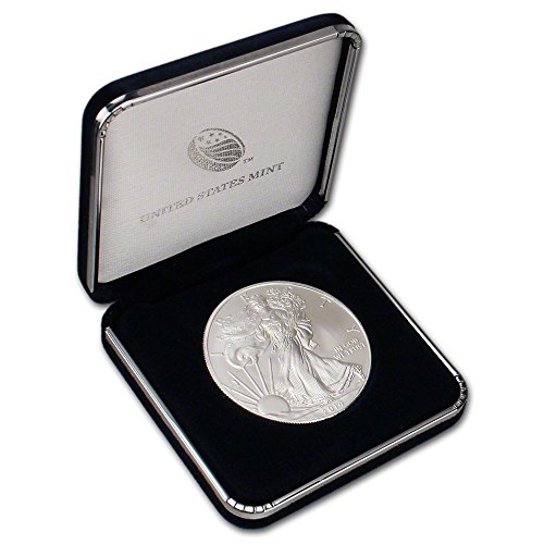 2014 American Eagle In U.S. Mint Gift Box Silver Dollar Choice Uncirculated Us Mint