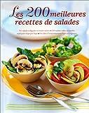 """Afficher """"200 meilleures recettes de salades (Les )"""""""