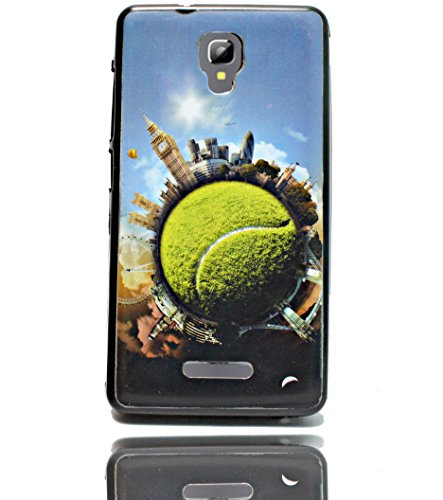 ECellStreet Exclusive Printed Soft Back Case Cover Back Cover For Micromax Bolt Q327 - Ball