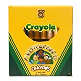 Crayola? Multicultural Crayons, Wax, Large Size, Eight Skin Tone Colors per Box by Crayola?
