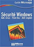 Scurit Windows : Antivirus et pare-feu