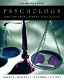 img - for Wrightsman's Psychology and the Legal System book / textbook / text book