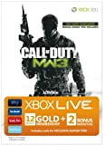 Xbox LIVE Gold Membership - Call of Duty--Modern Warfare 3: Branded Gold membership for 12 month with 2 Bonus Months including Avatar (GAME NOT INCLUDED)