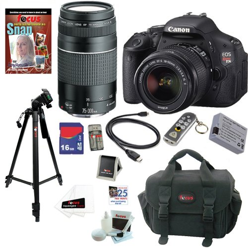 Lowest Price! Canon EOS Rebel T3i 18 MP CMOS Digital SLR Camera with EF-S 18-55mm f/3.5-5.6 IS II Zo...