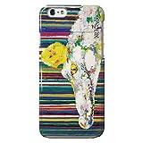 NiJiSuKe(ニジスケ) iPhone 5 / 5s 鏡付きケース カバー ワニ ミラー / カード収納 / 側面印刷 / スマホケース 【 保護フィルム付 】