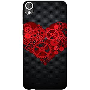 MECHANICAL HEART BACK COVER FOR HTC 626