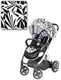 BabyStyle Oyster Pushchair - Mirror Finish inc Vogue Aztec Colour Pack