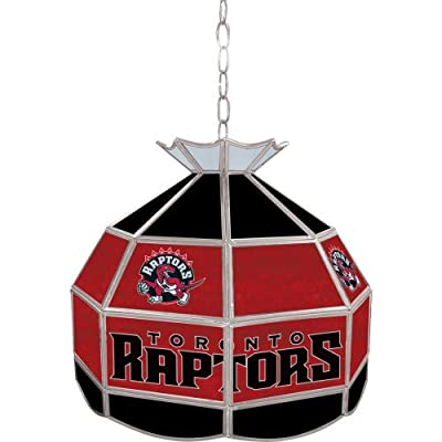Trademark Global Nba Toronto Raptors Tiffany Lamp