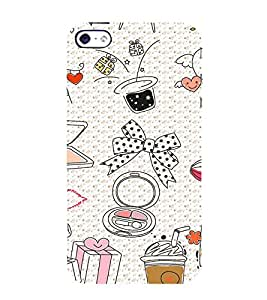 Animation of Modern girl usable 3D Hard Polycarbonate Designer Back Case Cover for Apple iPhone 5 :: Apple iPhone 5