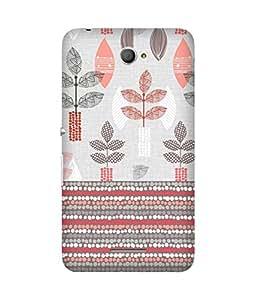 Floral Pattern Sony Xperia E4 Case