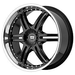 Motegi Racing Series MR056 Gloss Black Finish Wheel with Machined Lip (17×7.5″/4x100mm)