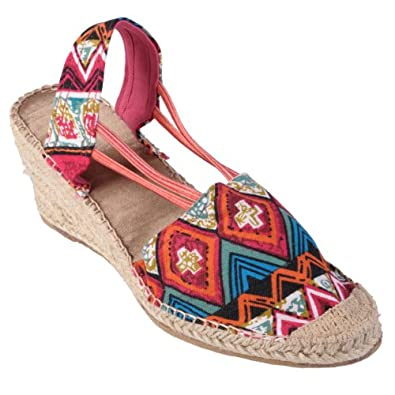 Brinley Co Womens Slip-on Canvas Espadrilles