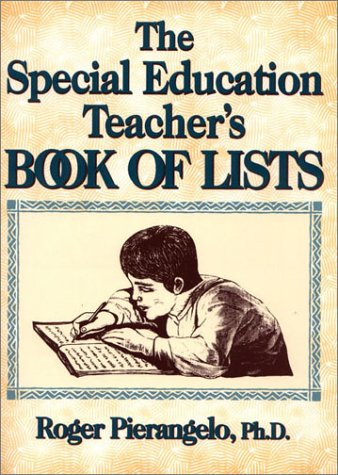 The Special Education Teacher'S Book Of Lists
