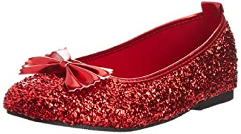 Wizard Of Oz Dorothy Ruby Slippers, Ruby Red, Medium