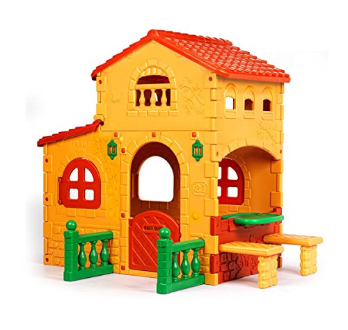 Ecr4Kids Children'S Country Estate Playhouse front-937346