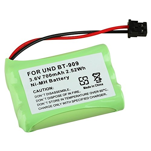 eForCity Compatible Ni-MH Battery for Uniden BT-909 Cordless Phone