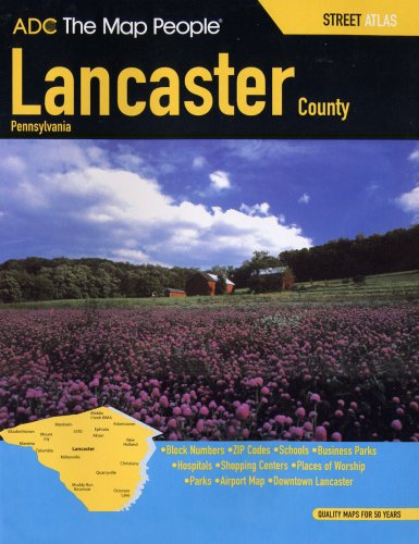 Lancaster county street atlas pennsylvania adc the map people lancaster county street atlas pennsylvania adc the map people lancaster county pa online at discount prices or through cheap special on lancaster county gumiabroncs Choice Image