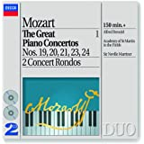 Mozart: Great Piano Concertos Vol. 1, Nos. 19 20 21 23 24