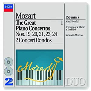 Mozart: The Great Piano Concertos, volume 1