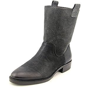 Sole Society Jaclyn Women US 8.5 Black Mid Calf Boot