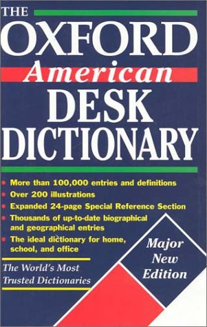 The Oxford American Desk Dictionary (Oxford Desk Reference Series) PDF
