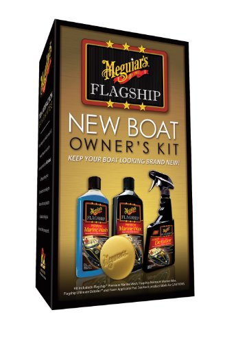 Meguiar's M6375 Flagship New Boat Owner's Kit
